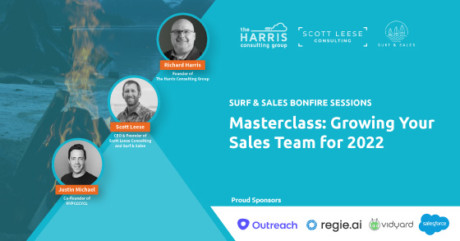 Masterclass Growing Your Sales Team for 2022-On Demand Webinar